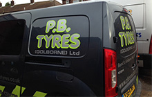 Main photo for P B Tyres