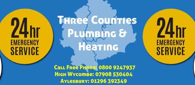 Main photo for Three Counties Heating & Plumbing Ltd