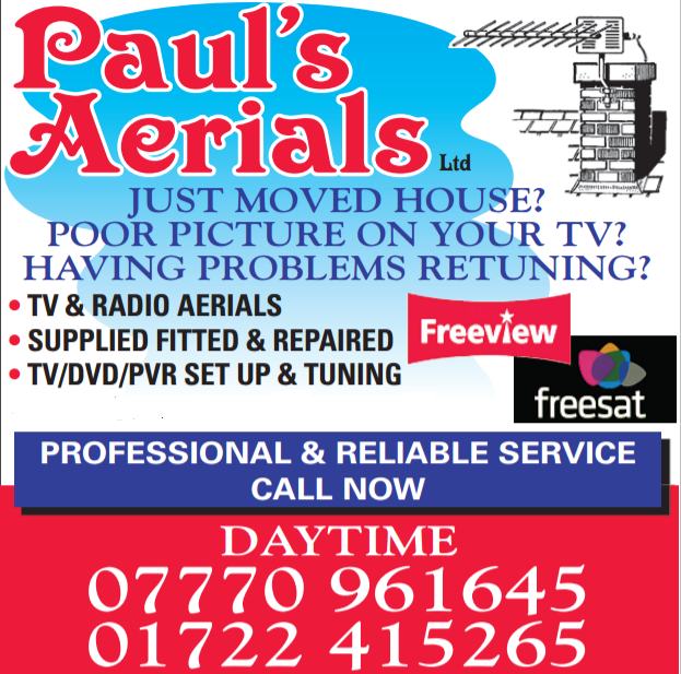 Main photo for Paul's Aerials Ltd