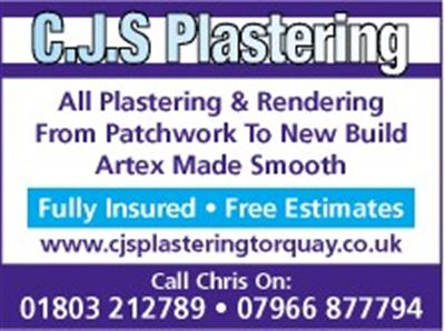 Main photo for CJS Plastering