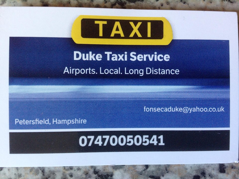 Main photo for Duke Taxi Petersfield