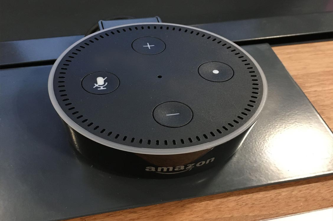 Amazon Echo smart home artificial intelligence device