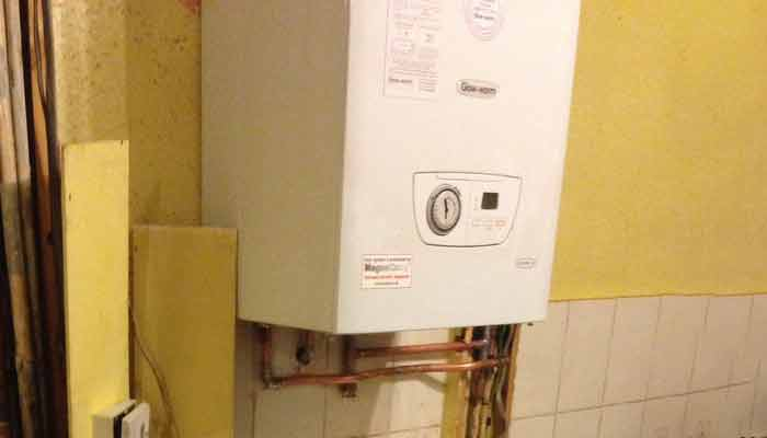 how to find a check your boiler pressure