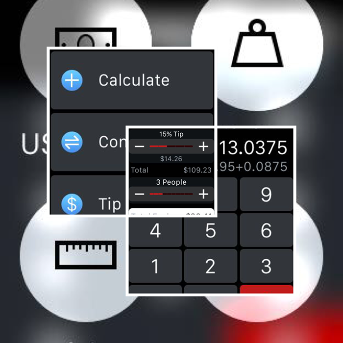 Calc Bot app for Apple Watch