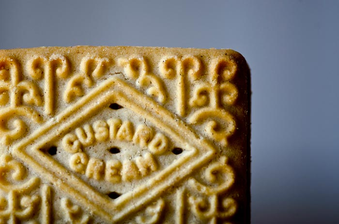 A custard cream is one of Britain's best biscuits