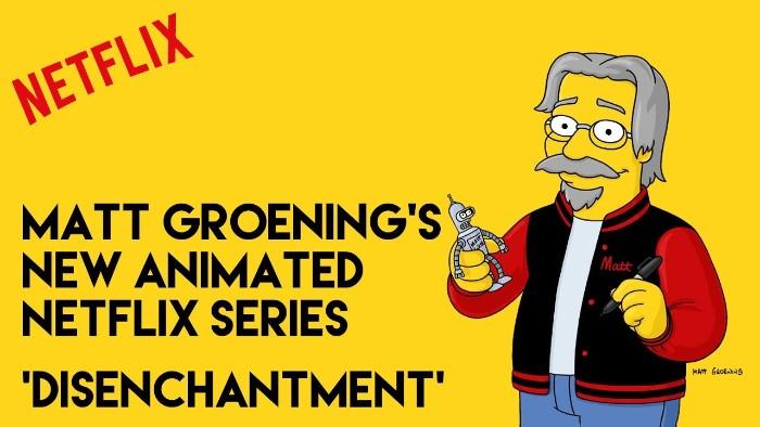Disenchantment TV show UK Netflix