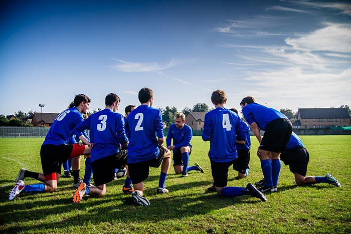 How to become a football coach including training
