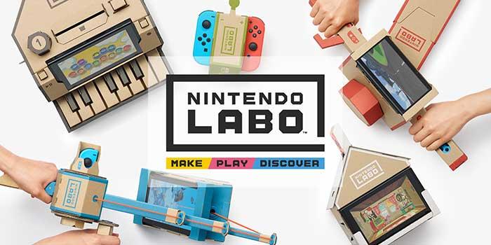 Nintento Labo Cardboard Robot