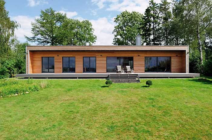 Baufritz kit house design