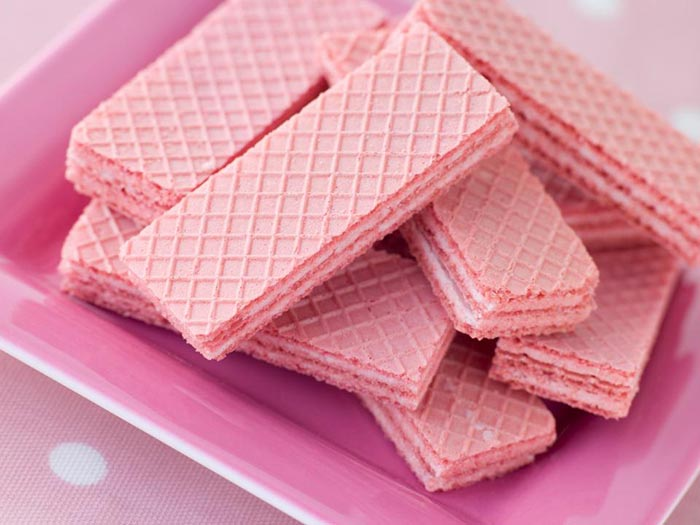 The pink panther wafer is one of Britain's best biscuits