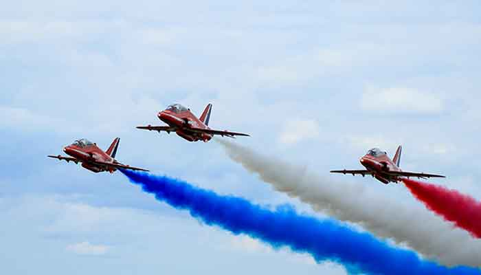 Will the red arrows be at the Farnborough Airshow