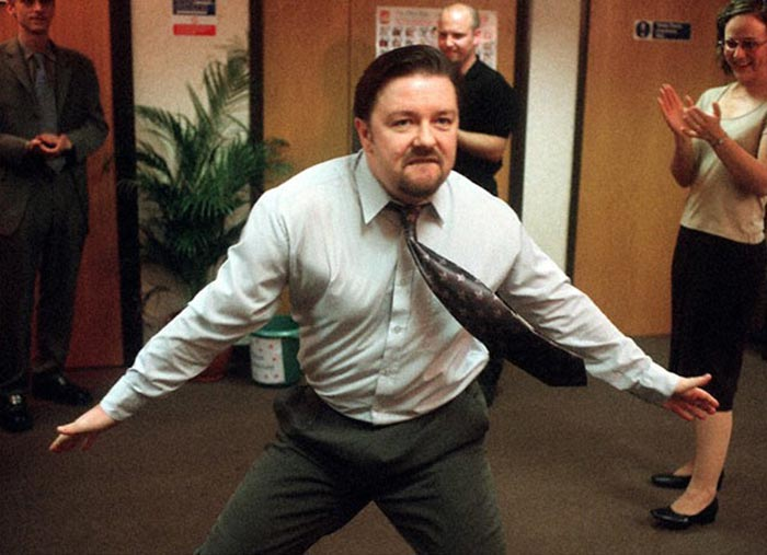 The office Christmas party dancer