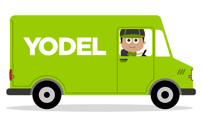 Deliver parcels for Yodel as an alternative to delivering Thomson Local phone books