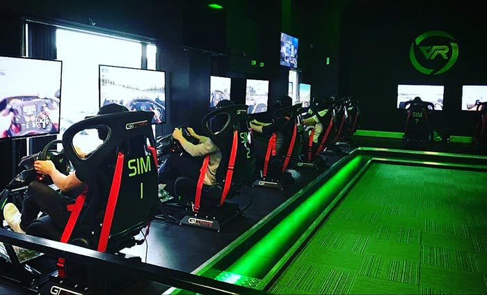 VR racing simulators experience in Glasgow