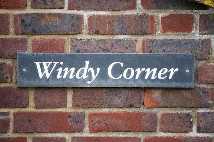 Windy corner shop