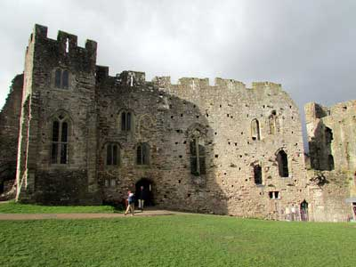 An example of Chepstow Castle on the Funeral Directors in Gwent page on Thomson Local.