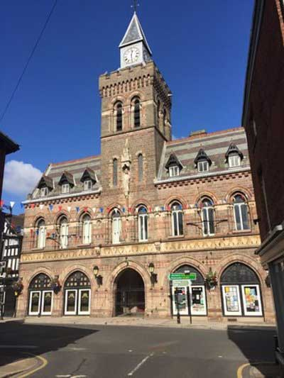 An example of Congleton Town Hall on the Funeral Directors in Cheshire page on Thomson Local.