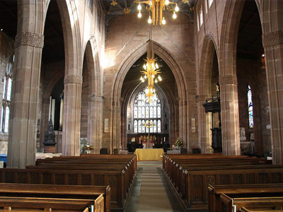 An example of All Saints Church, Rotherham on the Funeral Directors in South Yorkshire page on Thomson Local.