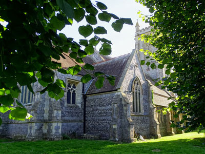 An example of St Michael's Church on the Funeral Directors in Wiltshire page on Thomson Local.