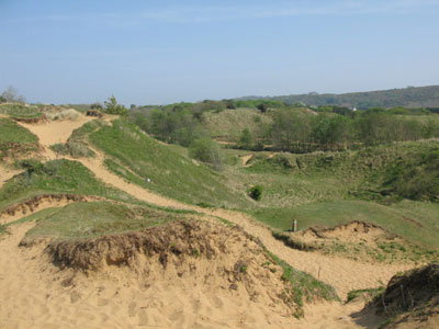 An example of Merthyr Mawr Sand Dunes on the Funeral Directors in Fleur de Lis page on Thomson Local.