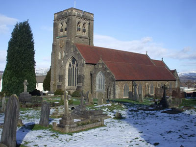 An example of St Martin's Church on the Funeral Directors in Fleur de Lis page on Thomson Local.