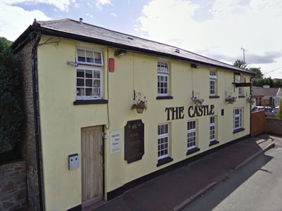 An example of The Castle Inn on the Funeral Directors in Fleur de Lis page on Thomson Local.