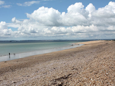 An example image of Hayling Island as shown on the Funeral Directors in Hampshire page.
