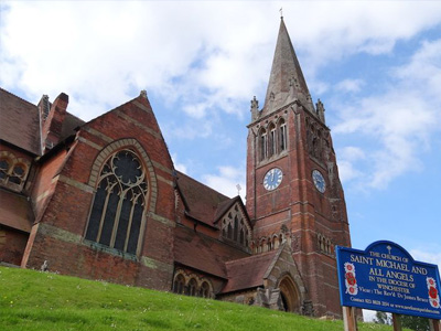 An example of St Michael & All Angels Church in Lyndhurst, on the Funeral Directors in Hampshire page on Thomson Local.