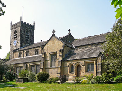 An example of the St John's Church on the Funeral Directors in Huddersfield page on Thomson Local.