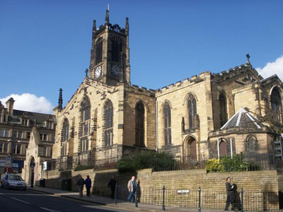 An example of the Huddersfield St Peters Church on the Funeral Directors in Huddersfield page on Thomson Local.