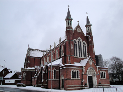 An example of St John's Catholic Cathedral on the Funeral Directors in Portsmouth page on Thomson Local.