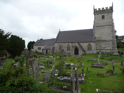 An example of St Bridget's Church on the Funeral Directors in St Brides Major page on Thomson Local.