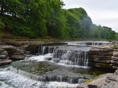 An example of Aysgarth Falls on the Funeral Directors in West Yorkshire page on Thomson Local.