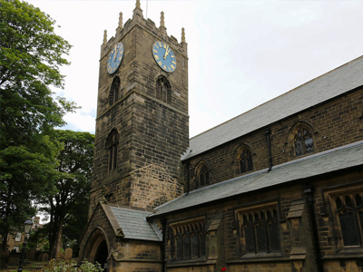An example of the Haworth Parish Church in Keighley, on the Funeral Directors in West Yorkshire page on Thomson Local.