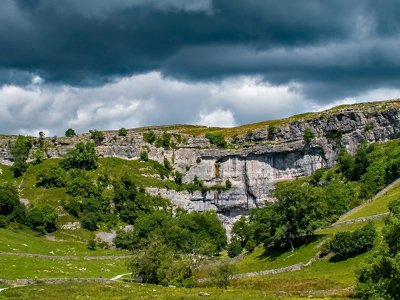 An example of Malham Cove near Malham, on the Funeral Directors in West Yorkshire page on Thomson Local.