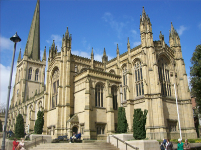 An example of the Wakefield Cathedral in Wakefield, on the Funeral Directors in West Yorkshire page on Thomson Local.