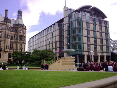 An example of Mercure Sheffield St Paul's Hotel and Spa on the Funeral Directors in Sheffield page on Thomson Local.