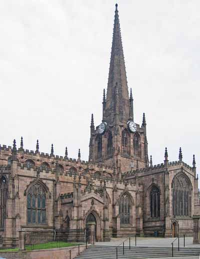 An example of Rotherham Minster Church on the Funeral Directors in Sheffield page on Thomson Local.