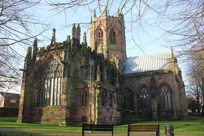 An example of St Mary's Church on the Funeral Directors in Cheshire page on Thomson Local.