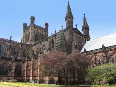 An example of Chester Cathedral on the Funeral Directors in Cheshire page on Thomson Local.