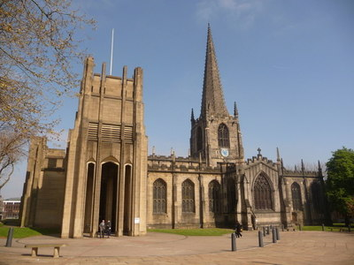 An example of Sheffield Cathedral on the Funeral Directors in Sheffield page on Thomson Local.